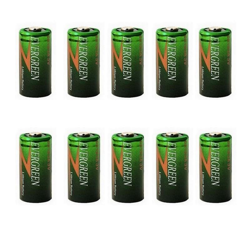 Lot de 10 piles 3V lithium...