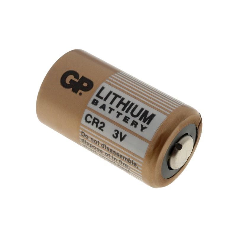 Pile 3 v lithium cr2